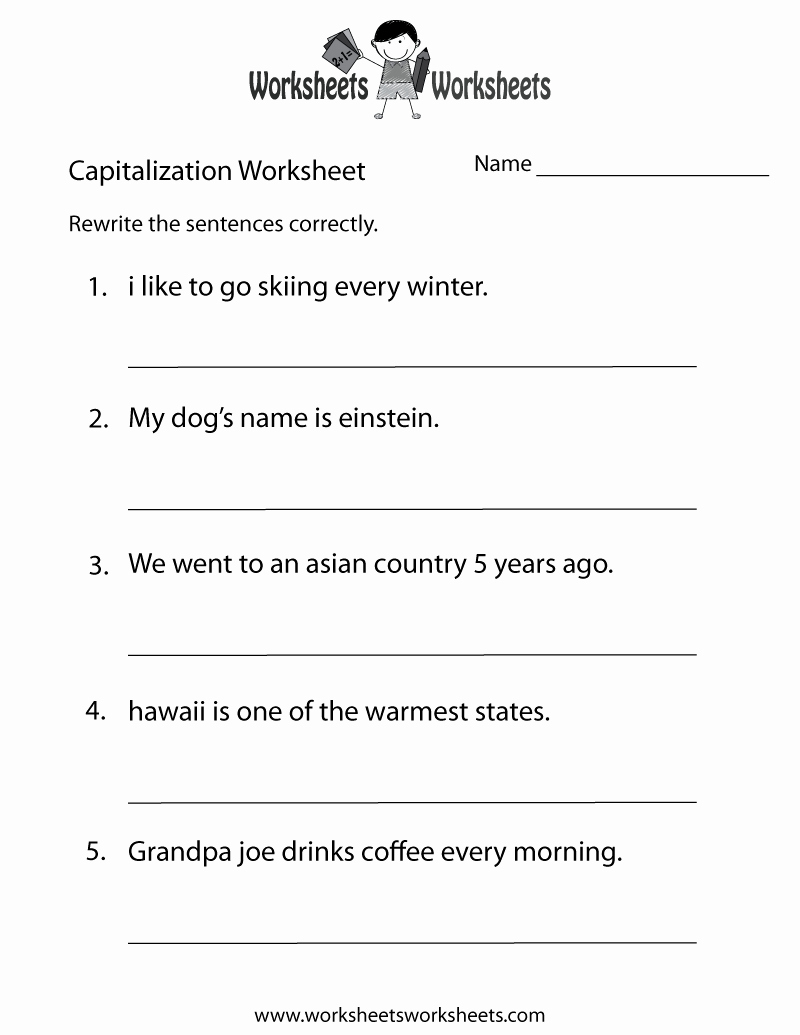 Health Worksheets Grade 1 – Cgcprojects - Free Printable Worksheets For Highschool Students