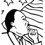 Heavenly Martin Luther King Coloring Pages Printable Photos Of Good   Martin Luther King Free Printable Coloring Pages