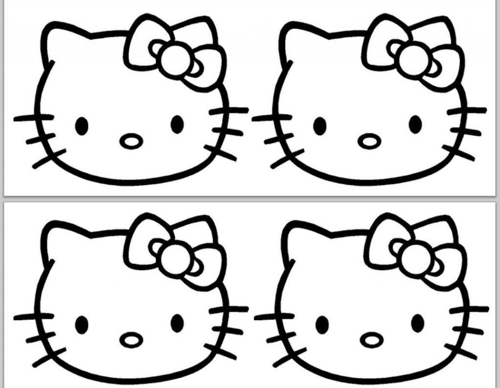 Hello Kitty Birthday Card Printable Free   Free Printable - Hello Kitty Birthday Card Printable Free