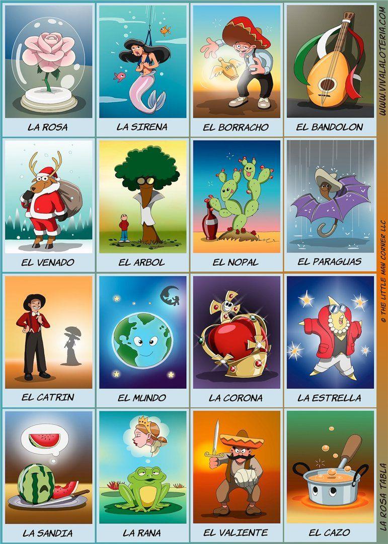 Hermosa Loteria | Loteria | Mexican Art, Mexico, Loteria Cards - Free Printable Loteria Cards