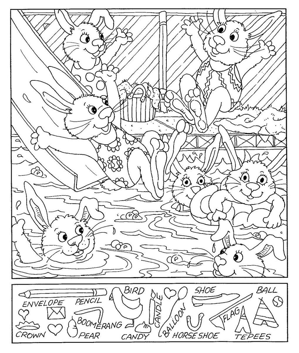 Hidden Picture Worksheet Free Worksheets Library   Download And - Free Printable Hidden Object Games