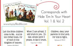 Hide 'em In Your Heart Scripture Cards {Free Printable} – My Joy – Free Printable Bible Verse Cards