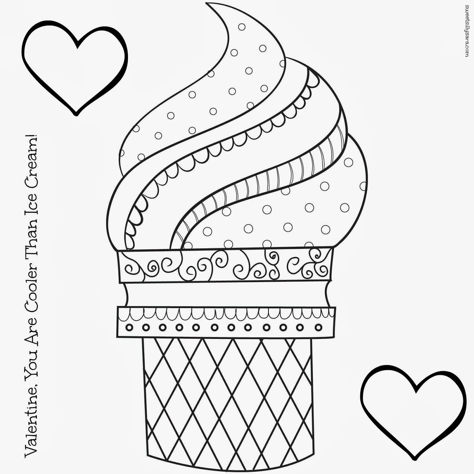 Hipster Coloring Pages |  Coloring_Page_Viewing_Gallery_For_-_ - Ice Cream Color Pages Printable Free