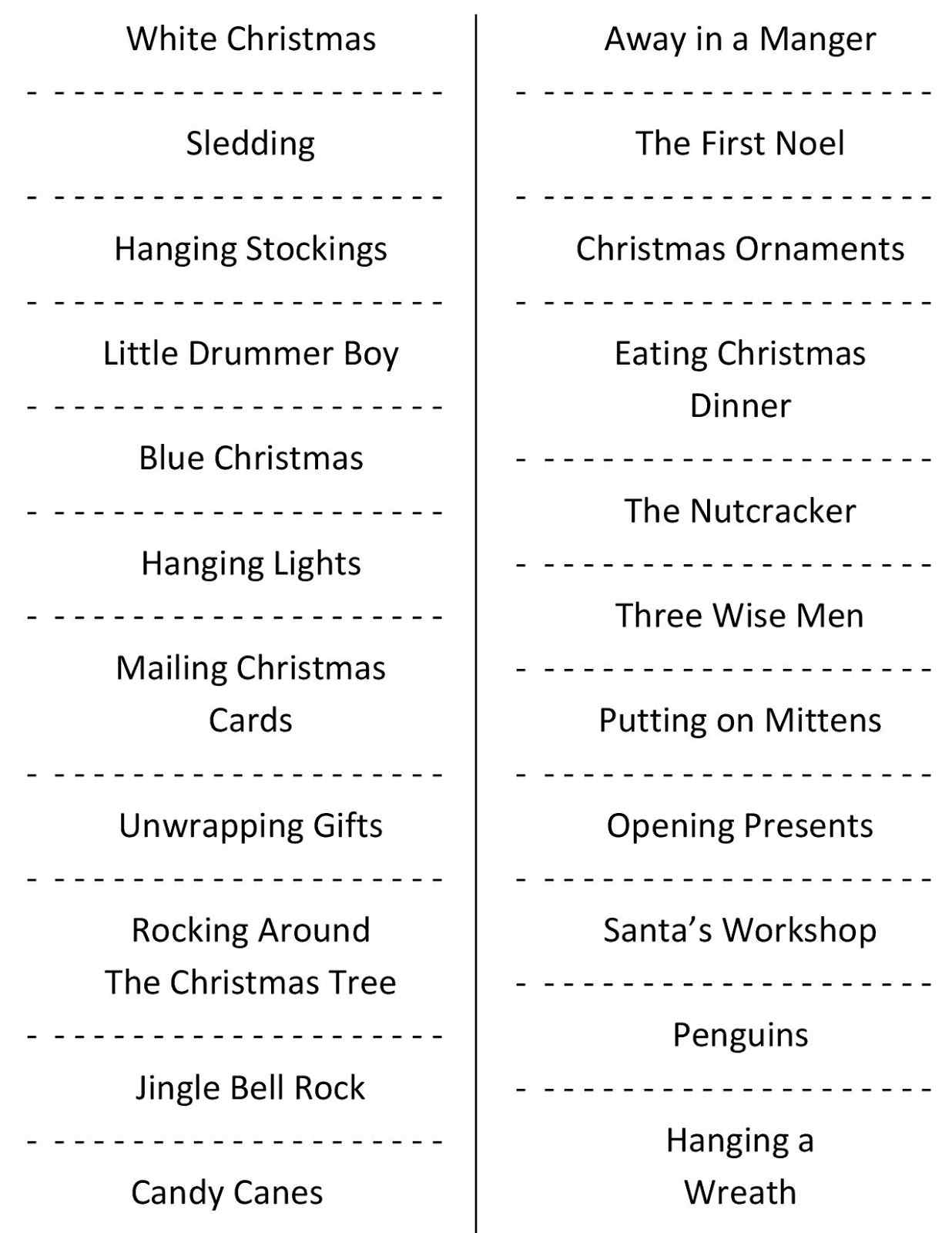 Holiday Party Games For Adults Christmas The Office Awesome - Holiday Office Party Games Free Printable