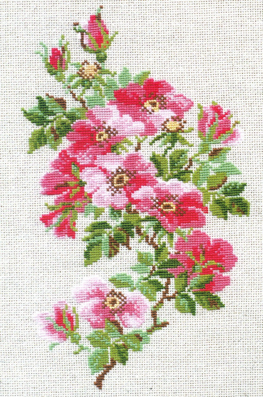 Horse. Free Cross Stitch Pattern   Better Cross Stitch - Free Printable Cross Stitch Patterns Flowers