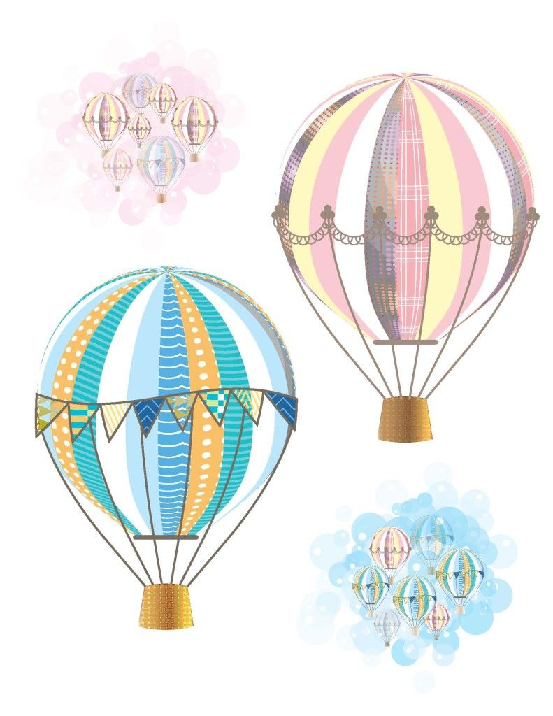 Hot Air Balloon Party Free Printables | Hot Air Balloon Party - Free Printable Pictures Of Balloons