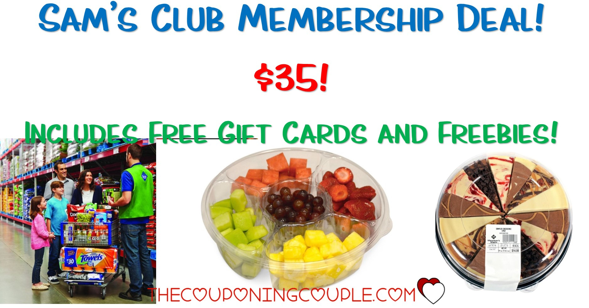 Hot Sams Club Membership Deal! $35! Includes Free Gift Cards + Freebies! - Free Printable Coupons For Fantastic Sams
