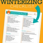 Household Winterizing Checklist | Printables | Pinterest | Home   Free Printable Winterization Stickers