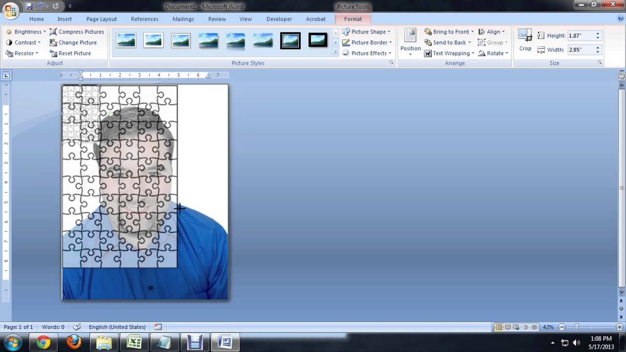 How To Create Jigsaw Puzzles In Microsoft Word, Powerpoint Or - Jigsaw Puzzle Maker Free Online Printable