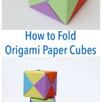 How To Fold Origami Paper Cubes   Frugal Fun For Boys And Girls   Printable Origami Instructions Free