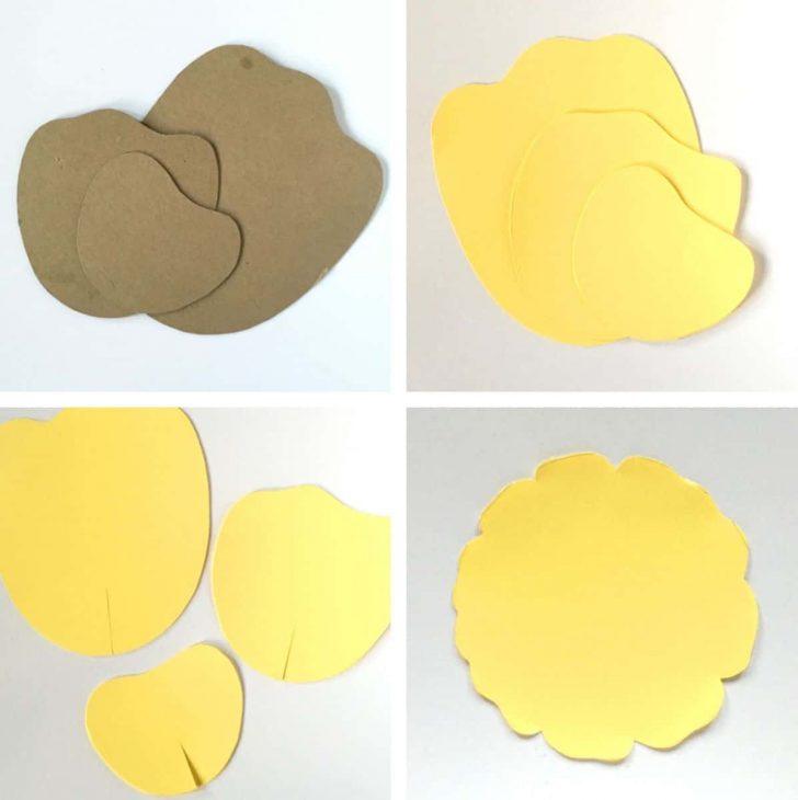 Free Printable Paper Flower Templates