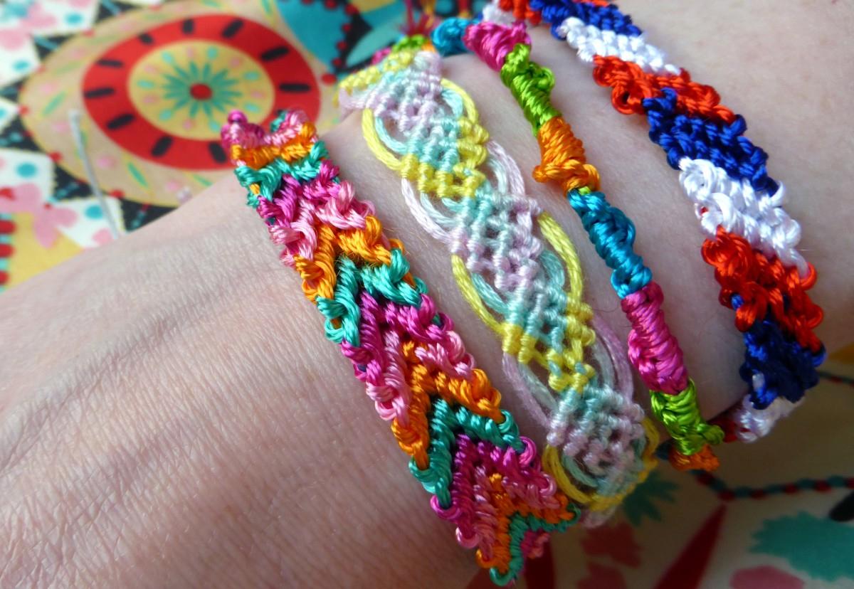 How To Make Friendship Bracelets - Hobbycraft Blog - Free Printable Friendship Bracelet Patterns