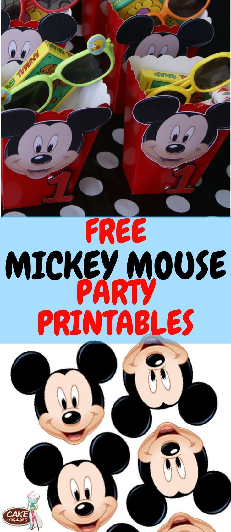 How To Make Mickey Mouse Inspired Party Favour Box With Free - Free Printable Mickey Mouse Decorations