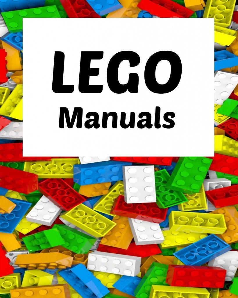 How To Organize Lego Manuals (+ Free Lego Printables!)   Blogger - Free Printable Lego Instructions