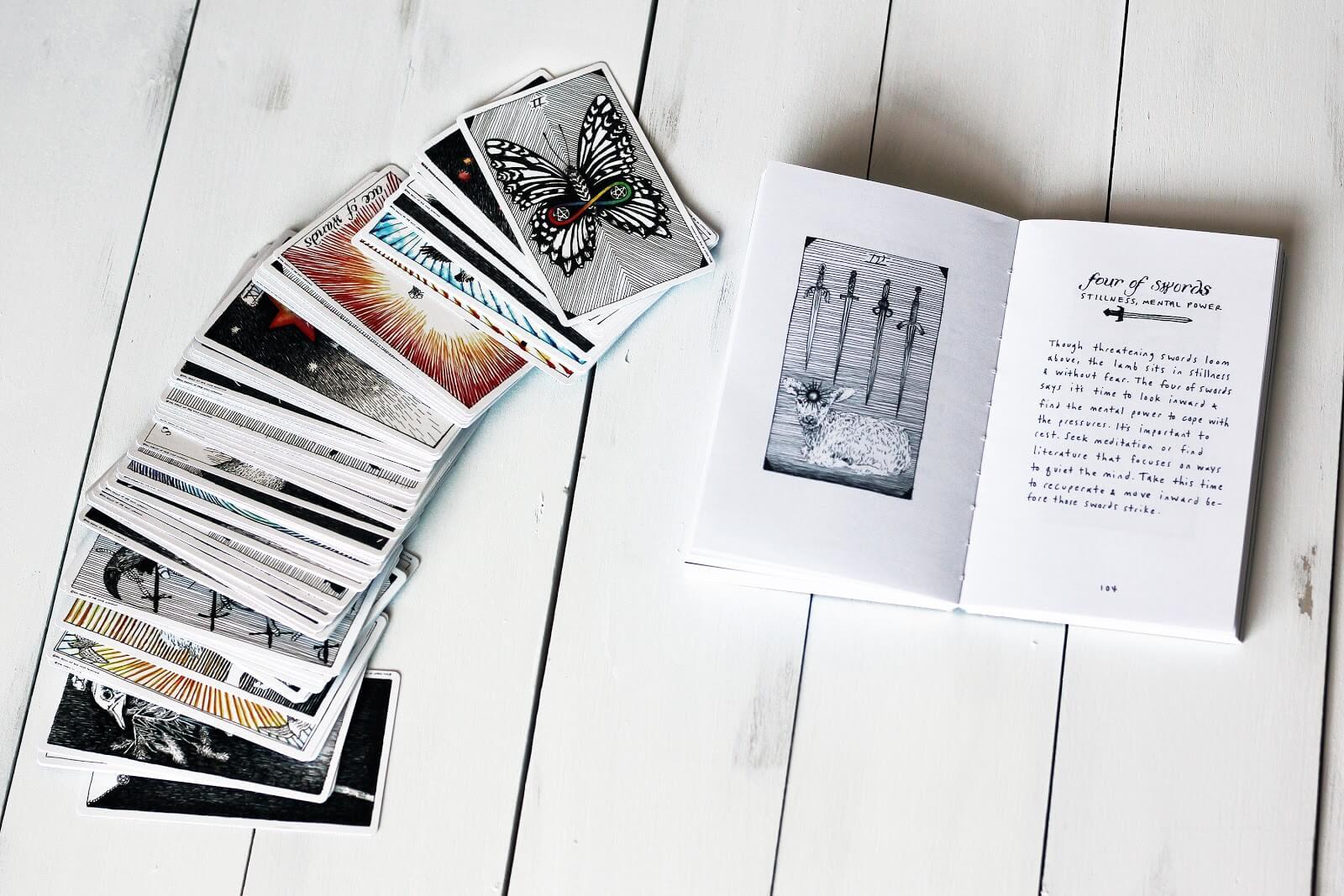 How To Read Tarot Cards For Beginners | Biddytarot Blog - Printable Tarot Cards Pdf Free