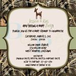 How To Throw Camouflage Themed Baby Shower | Free Printable Baby   Free Printable Camo Baby Shower Invitations
