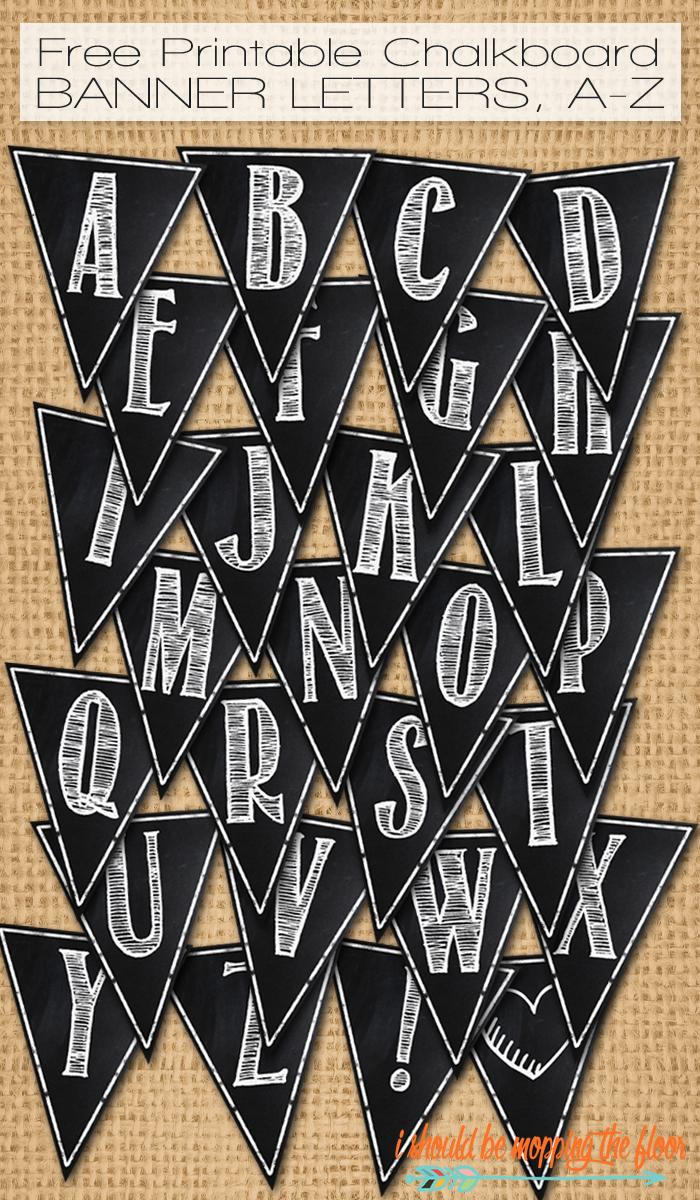 Free Printable Letters Az
