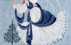 Free Printable Cross Stitch Patterns Angels