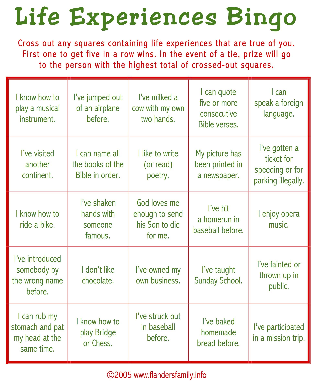 Ice Breaker Bingo (Free Printable) - Flanders Family Homelife - Free Printable Christmas Games For Adults