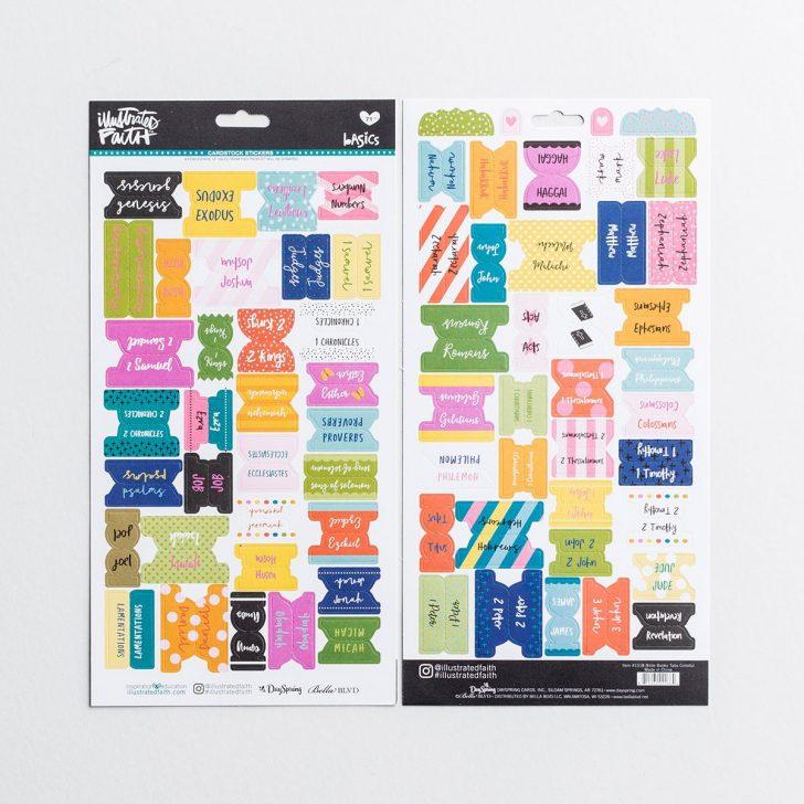 Free Printable Bible Tabs