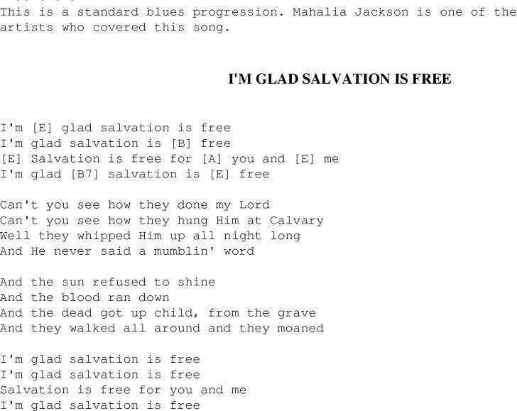 Free Printable Lyrics To Christian Songs