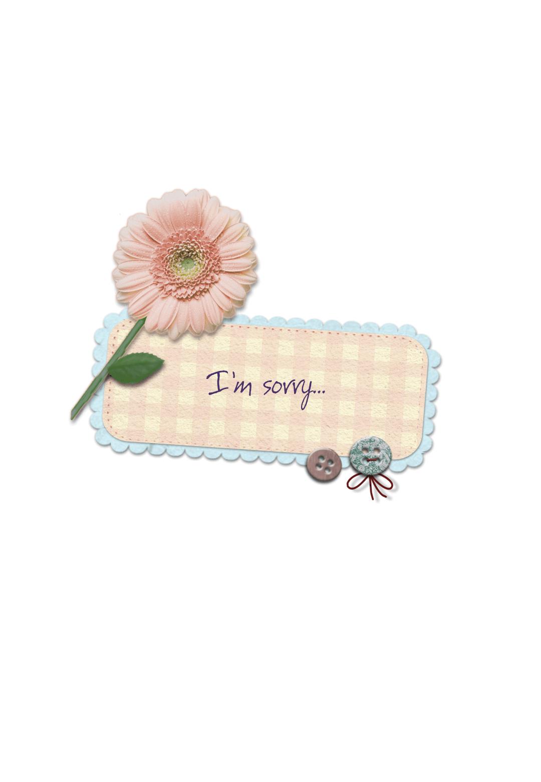 Im Sorry - Free I'm Sorry Card | Greetings Island - Free Printable I Am Sorry Cards