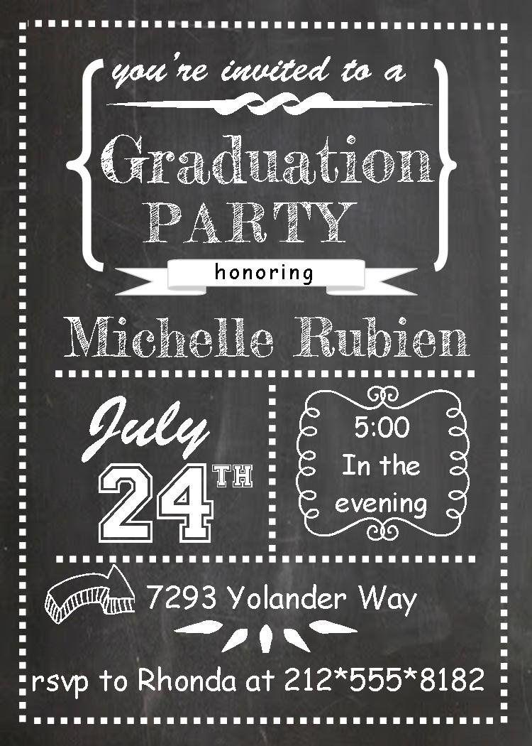 Image Result For Free Printable Graduation Invitations   College - Free Printable Graduation Party Invitations