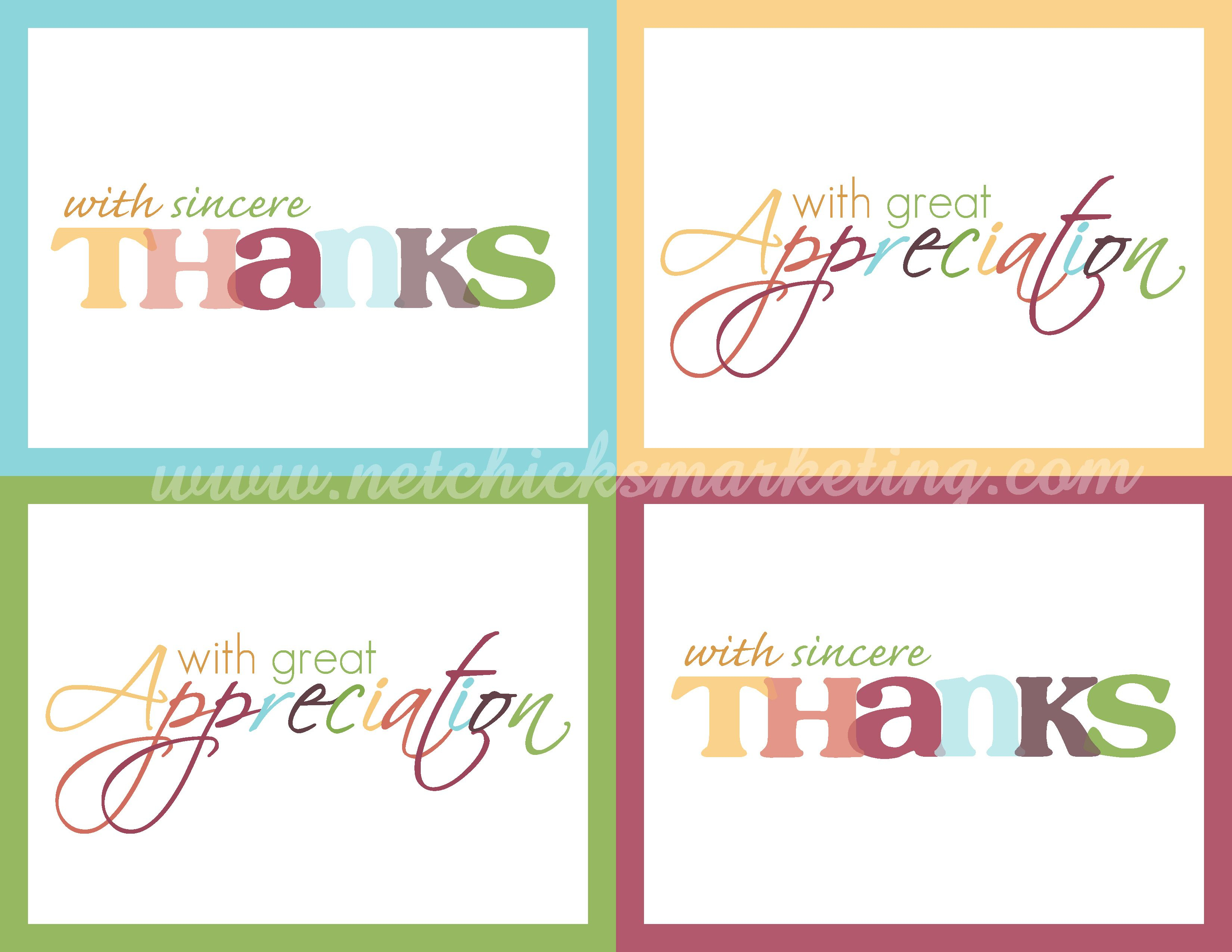 Image Result For Postcards Free Printable | Cards | Printable Thank - Free Printable Thank You Notes