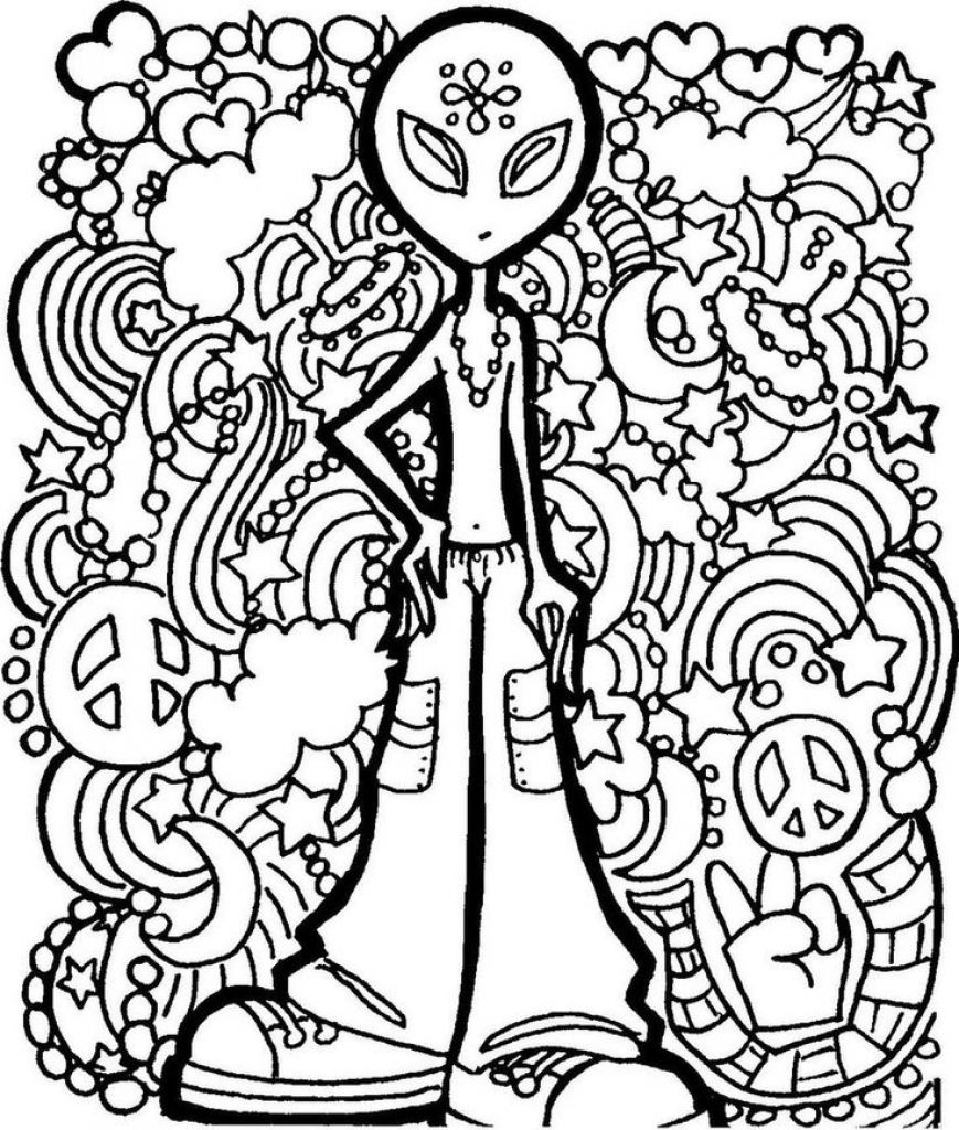 Image Result For Trippy Printable Coloring Pages | Camp Garbabge - Free Printable Trippy Coloring Pages
