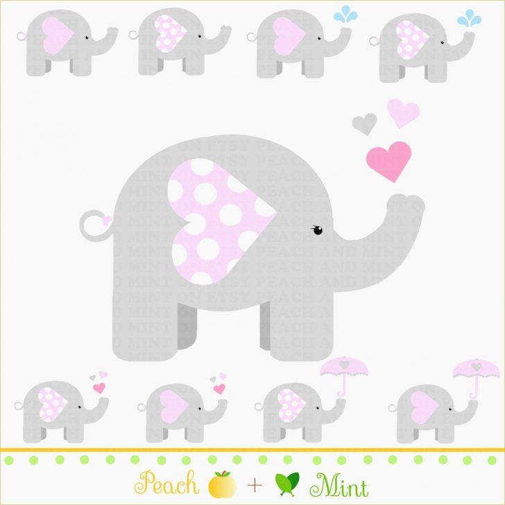 Free Printable Elephant Baby Shower