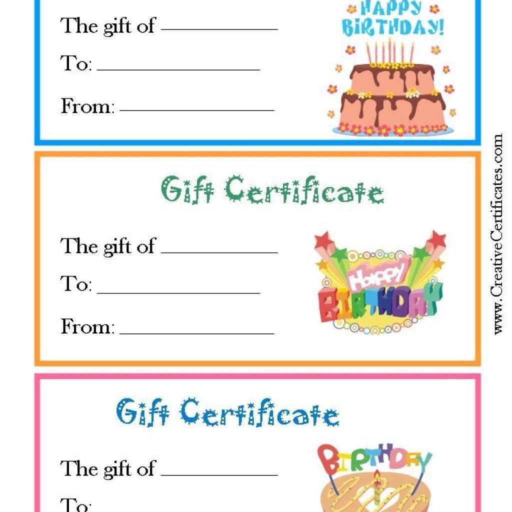 Inspirational Free Printable Coupon Templates   Best Template Pics - Free Printable Blank Birthday Coupons