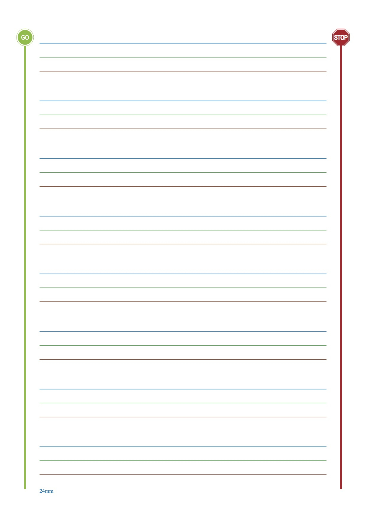 Inspirational Free Printable Lined Paper For Kids Writing | Chart - Free Printable Lined Paper