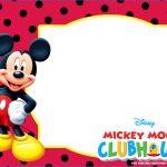 Inspirational Free Printable Mickey Mouse Invitations – Sarokapro   Free Printable Mickey Mouse Invitations