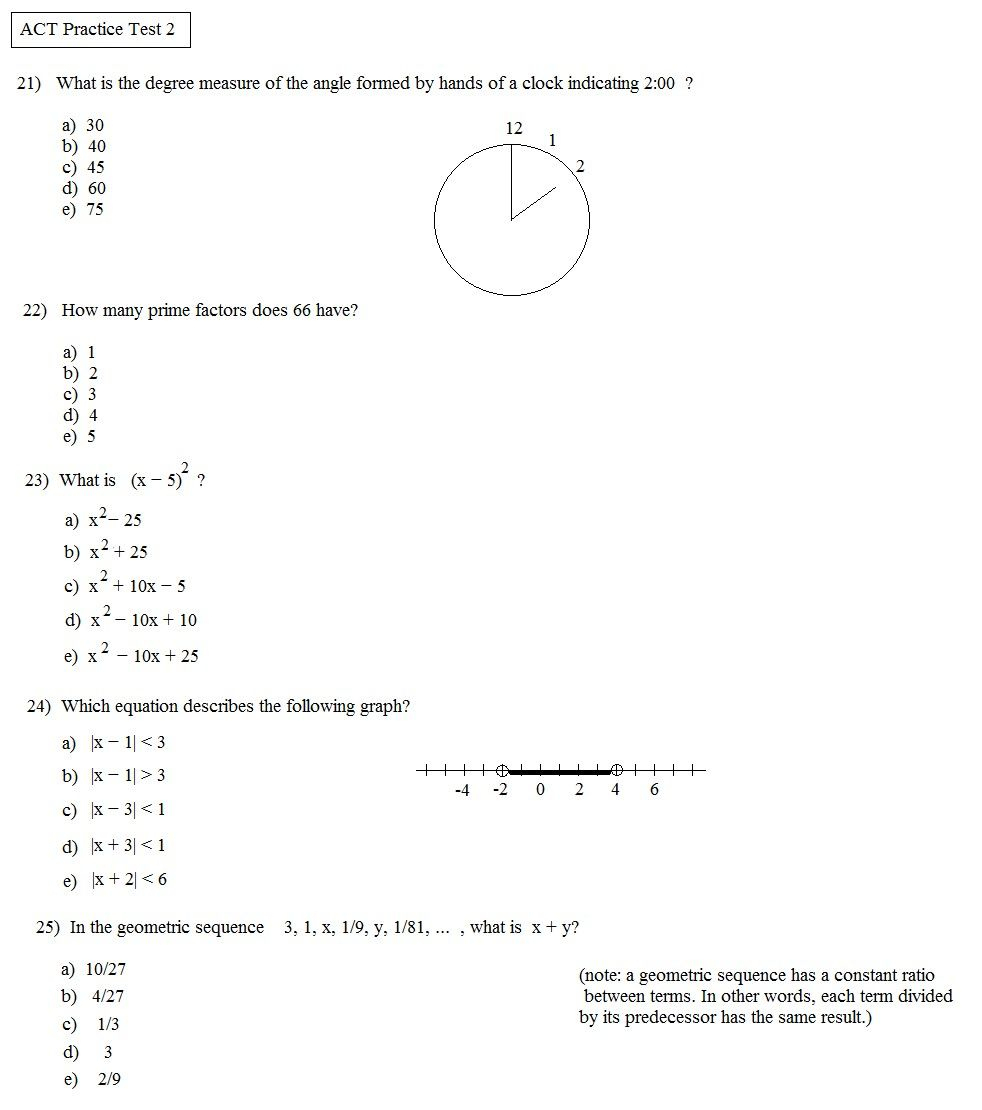 Integers Worksheet Pdf - Briefencounters Worksheet Template Samples - Free Printable Asvab Math Practice Test