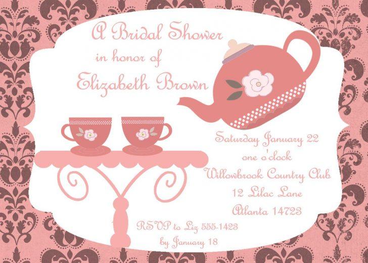 Free Printable Kitchen Tea Invitation Templates