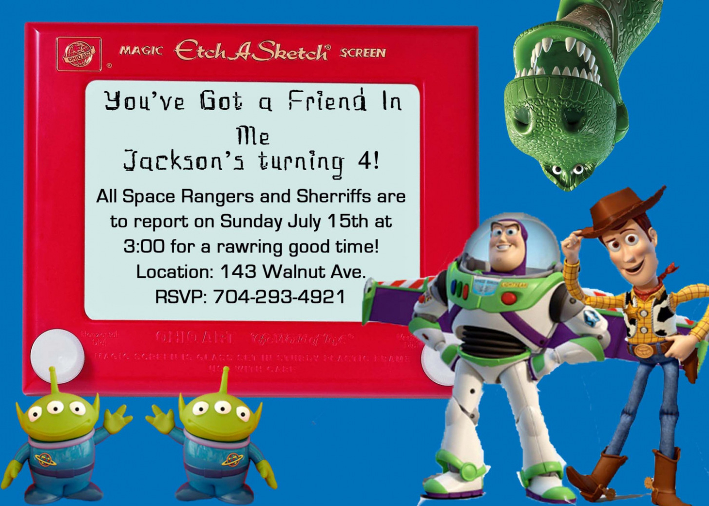 graphic about Free Printable Toy Story Invitations identify Invitation. Toy Tale Invitation Template Absolutely free Down load