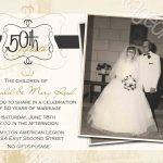Invitations | 35Th | Anniversary Invitations, Anniversary Party – Free Printable 60Th Wedding Anniversary Invitations