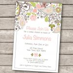 Invitations Templates Vintage Wedding Shower Invitations Etsy Baby   Free Printable Bridal Shower Invitations Templates