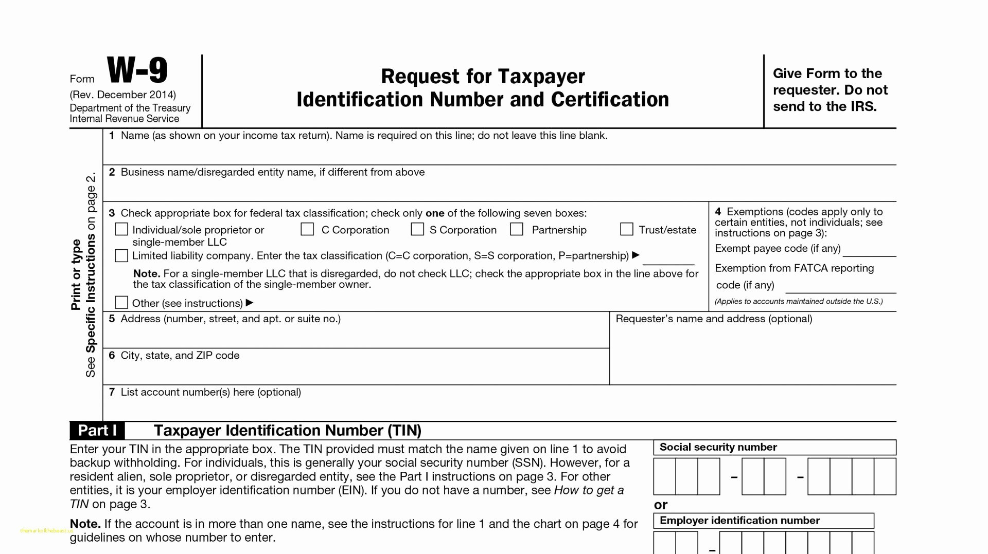 Irs 1099 Form 2014 Printable Free #507831000485 – Free Tax Forms For - Free Printable Irs 1040 Forms