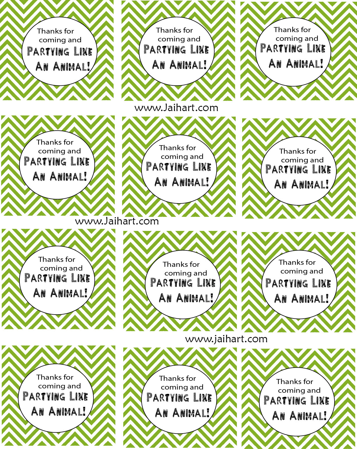 Jaihart: Guest Post At I Heart Naptime+Free Printable - Free Printable Thank You Tags For Birthdays