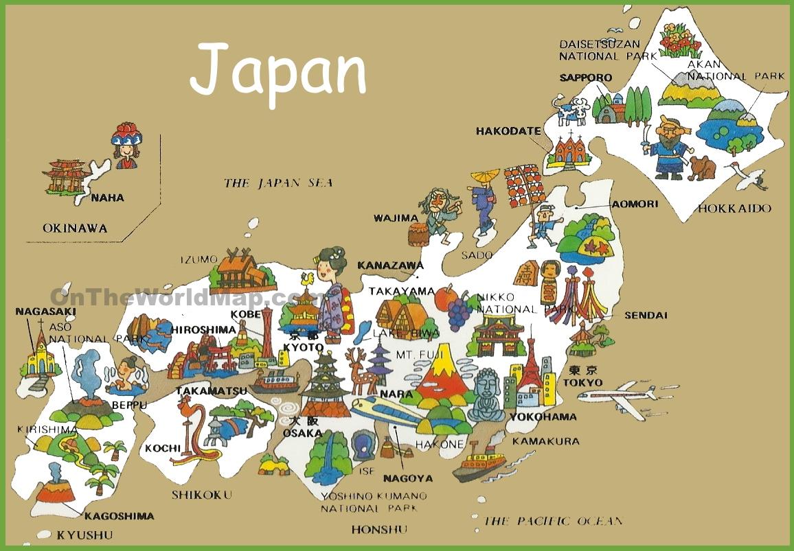 Japan Maps   Maps Of Japan - Free Printable Map Of Japan