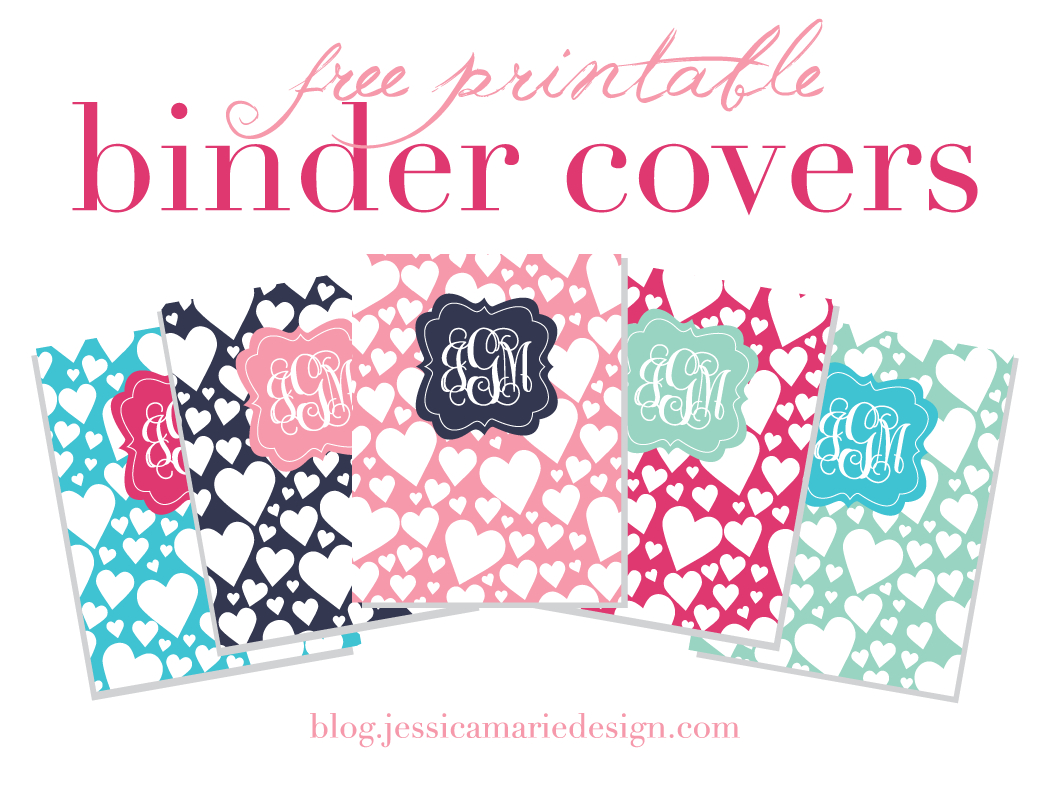 Jessica Marie Design Blog: Free Printable Binder Covers - Free Printable Binder Covers