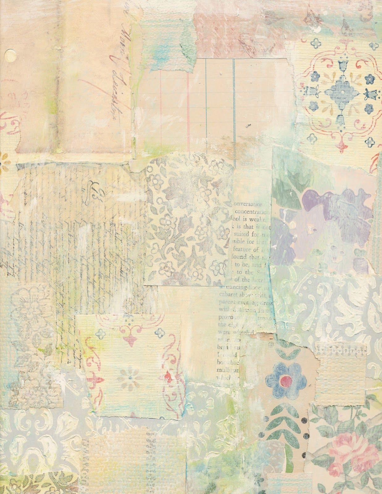 Jodie Lee Designs: Free Printable! Vintage Wallpaper Collage - Free Printable Background Pages
