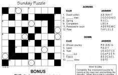 Jumble Archives | Tribune Content Agency – Jumble Puzzle Printable Free