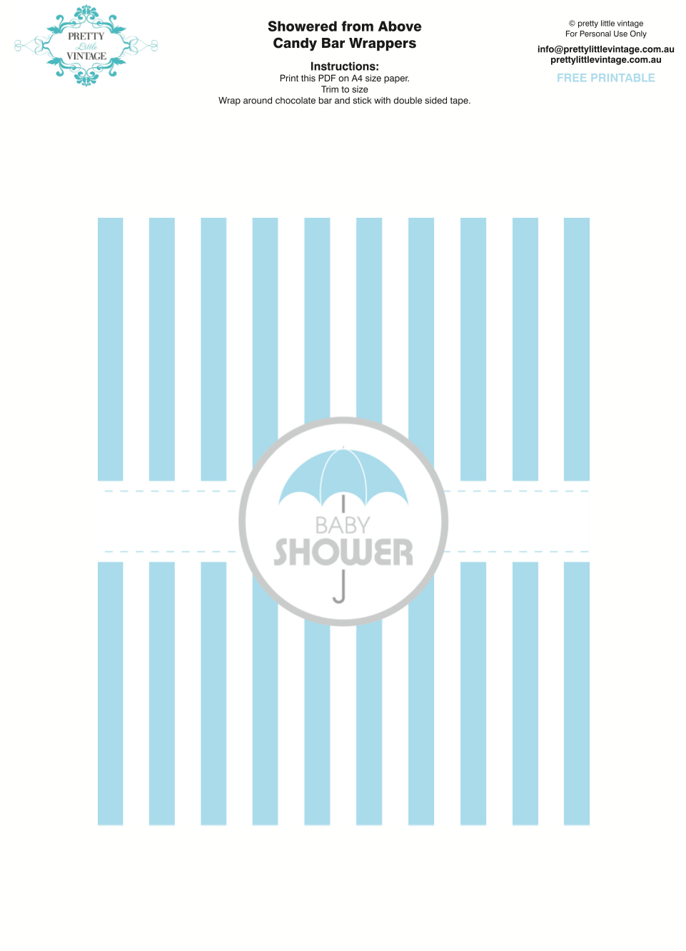 Kara's Party Ideas Showered From Above Rain Boy Baby Shower - Free Printable Baby Shower Decorations For A Boy