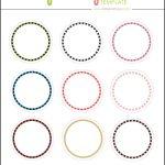 Kate: Free Digital Cupcake Pick Topper Template | Printables   Free Printable Cupcake Toppers