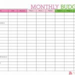 Keep Track Of Your Monthly Expenditures With This Free Printable   Free Printable Budget Planner