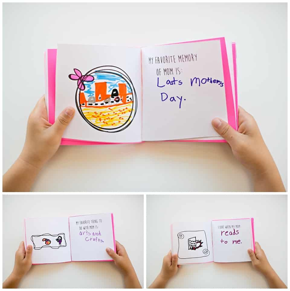Kid-Made Free Printable Mother's Day Book - Free Printable Preschool Memory Book