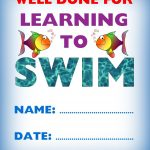 Kids Certificate For Learning To Swim | Swim | Pinterest | Swim   Free Printable Swimming Certificates For Kids