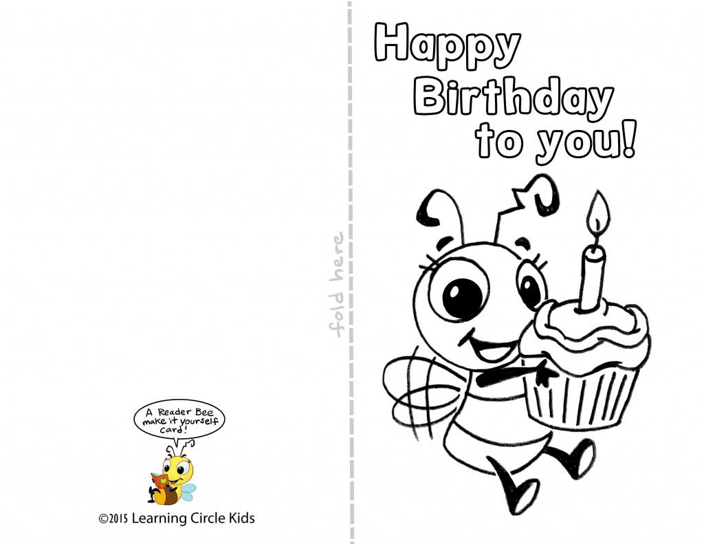 Kids Printable Birthday Cards - Saman.cinetonic.co With Free - Free Printable Kids Birthday Cards Boys